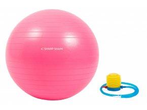 Gymnastický míč Sharp Shape Gym ball 65 cm - Pink
