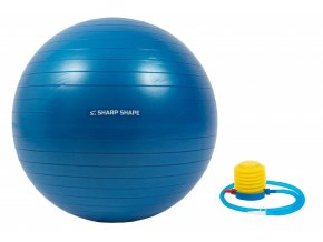 Gymnastický míč Sharp Shape Gym ball 75 cm - Blue