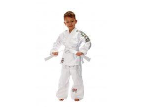 Kimono judo dětské od vel.80, bílý pásek v ceně