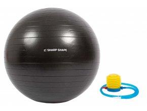 Gymnastický míč Sharp Shape Gym ball 65 cm - Black
