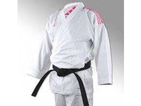karate kimono adidas k220 pink fighter