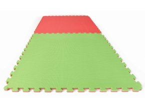 Puzzlematte Econo neu 2cm red green rot gruen 1[610x480]