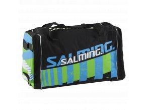 SALMING Wheelbag INK, 170L-34, SR, Black/Lime, 2 wheel