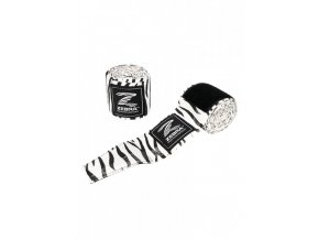 boxbandagen zebra boxing bandages weiss 01 720x720