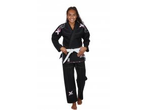 9261000 Ju Sports BJJ Gi Lady black pink