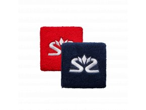 SALMING Wristband Short 2-pack Red/Blue