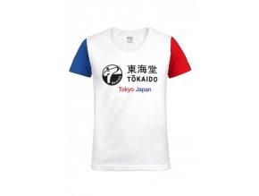 damen karate t shirt tokaido aka ao weiss 384x543