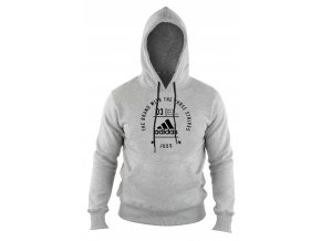 adidas community line performance pro adiCHJudo Hoody Grey 20Black 1