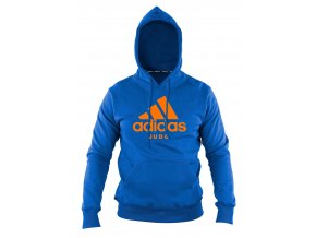 adiCHJ adidas community line hoodie judo blue orange 1