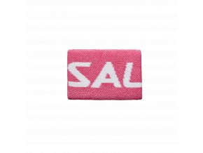SALMING Wristband Mid Pink/White