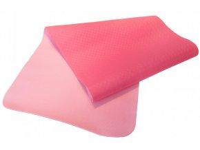 Jóga podložka Sharp Shape Dual yoga mat pink