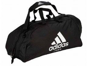 adidas sporttasche ADIACC055J black white judo 2 (1)