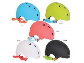 SKILLET X helma na kolečkové brusle candy S/M