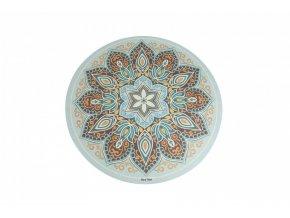 Sharp Shape Round yoga mat Mandala