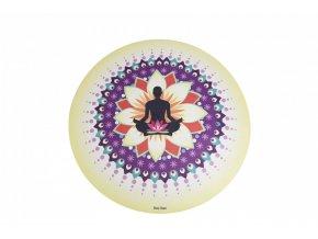 Sharp Shape Round yoga mat Meditation