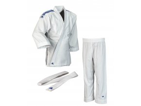 adidas JudoGi Evolution J250E white 1