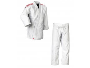 adidas Judo Gi J690 Quest white red 01
