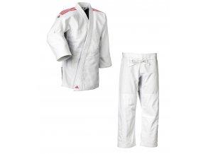 adidas Judo Gi J690 Quest white red 01