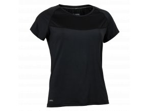 SALMING Run Laser Tee Women Black Melange