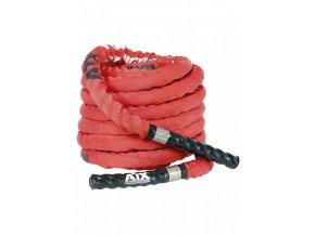 Posilovací lano červené
