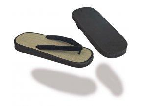 Pantofle ZORIS - rýžový rákos FLIP FLOP - VÝPRODEJ