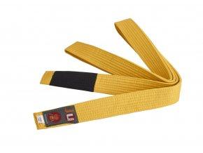 BRAZILIAN JIU JITSU dětský pás žlutý 220cm - VÝPRODEJ