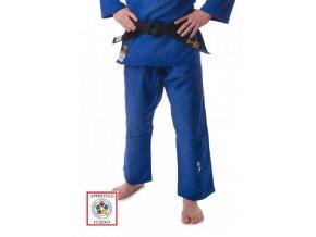 kalhoty judo slim fit modré