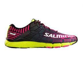 SALMING Speed 6 Shoe Wmn Fluo Pink/Flou Yellow