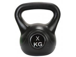 Činka kettlebell Exercise Black 5 kg