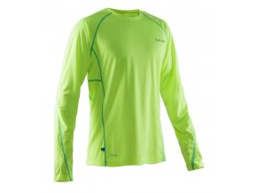 SALMING Run LS Tee Men Safety Yellow/Ceramic Green
