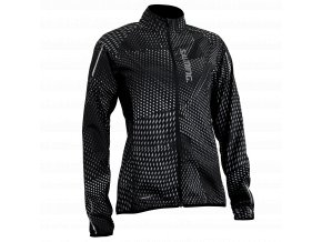 SALMING Run Ultralite Jacket 3.0 Women Black AOP