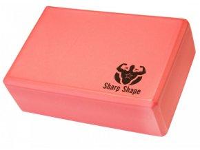 Jóga blok Sharp Shape Yoga block red