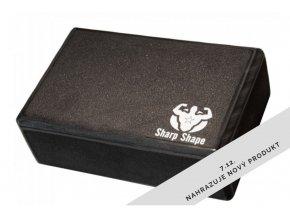 Jóga blok Sharp Shape Yoga block black