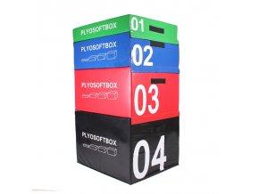 SOFT PLYOBOX  90x75x60 cm