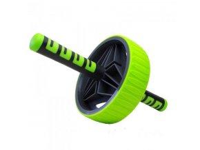 Posilovací kolečko AB roller Pro New  zelené