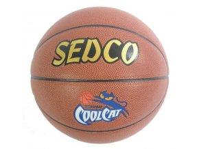 Míč basket  kůže SYNT. COOL CAT - 5 AKCE