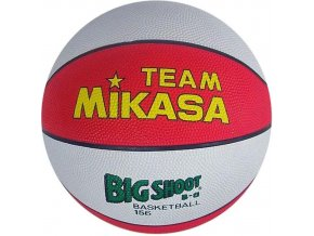 Míč basketbalový MIKASA BIG SHOOT B-6 červeno/bílý