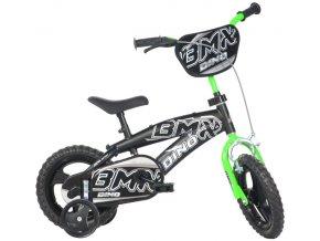 """Dino BMX černá 12"""" 2014"""