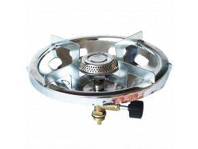 YATE 00011 CAMPING K620 Vařič jedna plotýnka (pro použití k 2 kg PB lahvi)