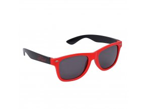 Brýle na kolečkové brusle RETRO červené