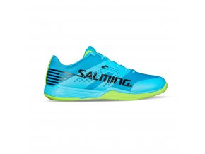 SALMING Viper 5 Men Shoe Blue Atol/New Fluo Green