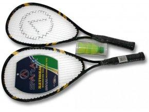 Speedminton SET 53580  barva černo/žlutá