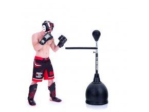 Boxovací hruška volně stojící s ramenem RING SPORT