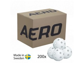 SALMING Aero Floorball White 200-pack