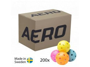 SALMING Aero Floorball Mixed colours 200-pack