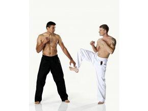 Výprodej Kalhoty DAX KICK pro bojové sporty - bílé