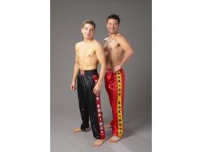 Kickbox kalhoty model KICK - červené