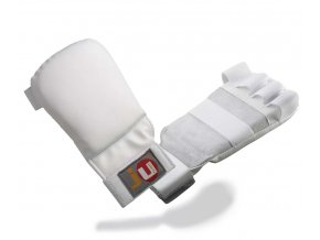 Rukavice na JIU JITSU a pro JKA  model PRO - bílé
