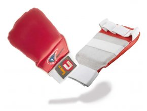 Rukavice na JIU JITSU model PRO JJIF approved - červené