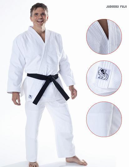 Kimono na judo DAX - model FUJI 570g - CENA včetně bílého pásku Velikost: 180